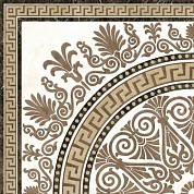 Декор Meander Rosette 400*400 GOLDEN TILE